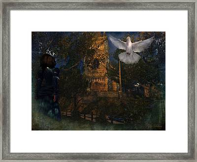 Goatswood Cathedral Framed Print by Kylie Sabra
