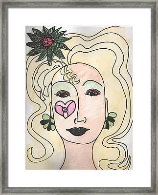 Goddess Three Framed Print