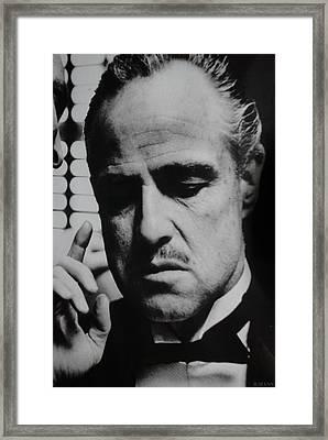 Godfather Framed Print by Rob Hans