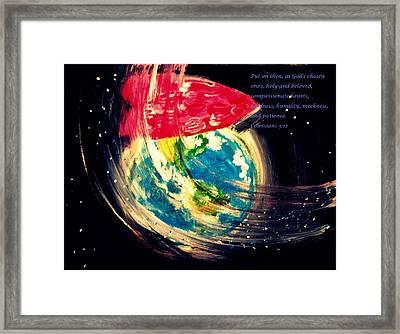 Gods Unfailing Love Framed Print