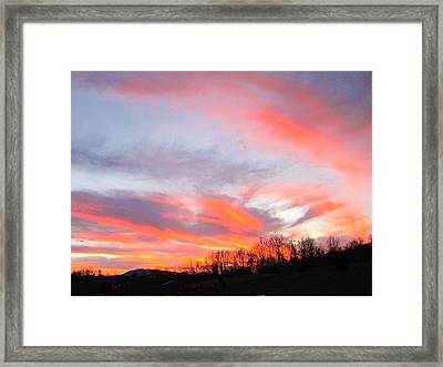 God's Work Framed Print
