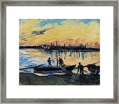 Gogh, Vincent Van 1853-1890. The Framed Print by Everett