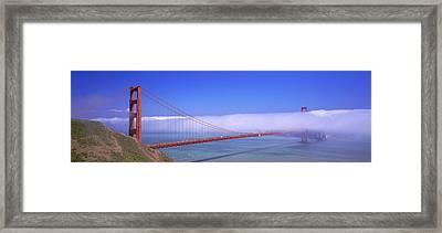 Golden Gate Bridge, California, Usa Framed Print