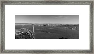 Golden Gate Bridge Framed Print by Twenty Two North Photography
