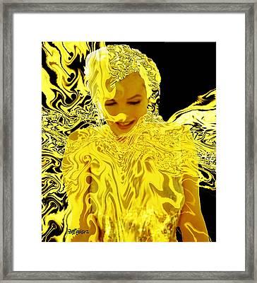 Golden Goddess Framed Print