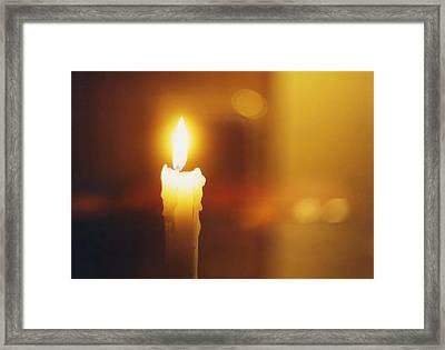 Golden Light Framed Print by Hartmut Jager