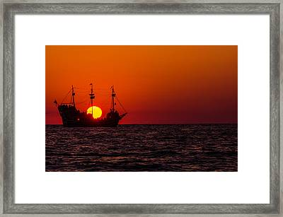 Golden Light Framed Print by RC Pics
