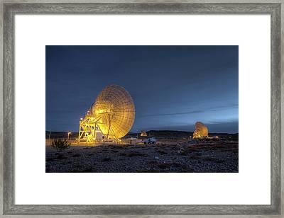 Goldstone Observatory Framed Print by Nasa/jpl-caltech