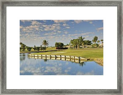 Golf Course Framed Print by M Cohen