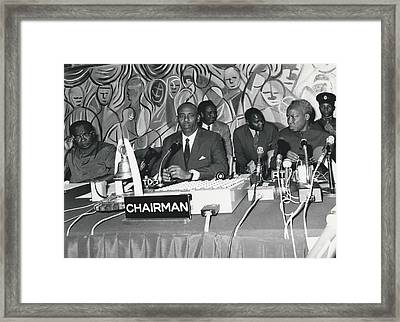 �good Neighbors� Conference, Dares Salaam, Tanzania Framed Print by Retro Images Archive