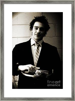 Good Old Fashioned Service Concept Framed Print by Jorgo Photography - Wall Art Gallery