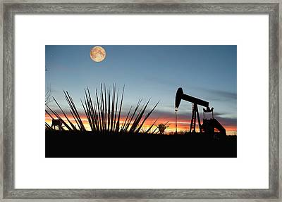 Goodnight Odessa Framed Print by GCannon