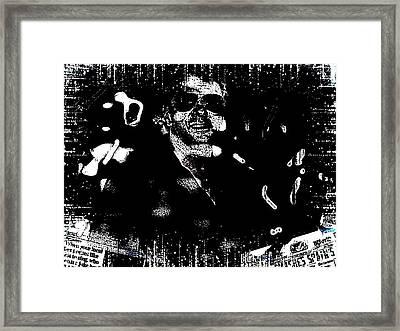 Goody Adams Framed Print by HollyWood Creation By linda zanini