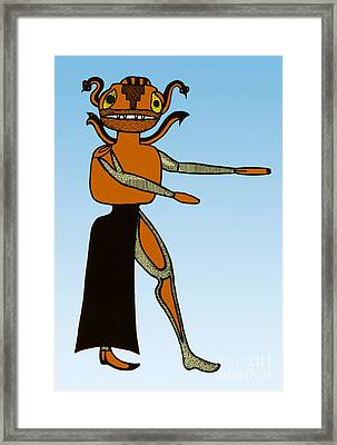 Gorgon, Legendary Creature Framed Print by Photo Researchers