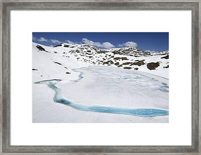 Gotthard Pass Swiss Alps Framed Print by Thomas Marent