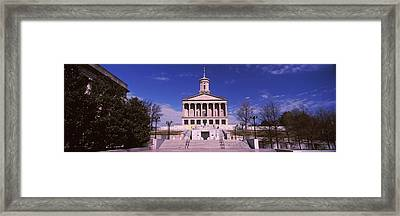 Government Building In A City Framed Print by Panoramic Images