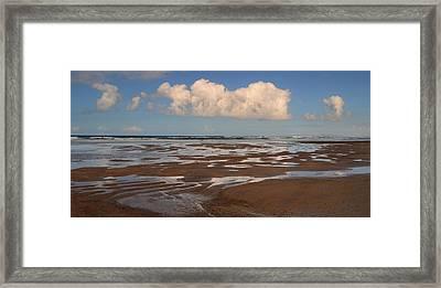 Gowlane Beach Framed Print by Barbara Walsh