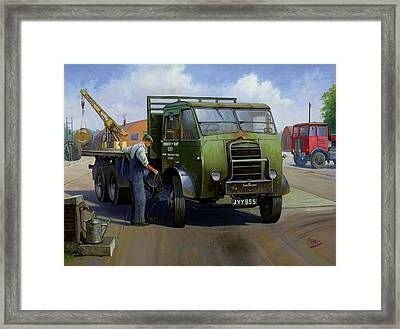 Gpo Foden Framed Print by Mike  Jeffries