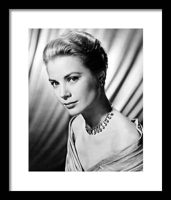 Grace Kelly Framed Prints