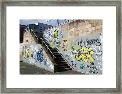 Graffiti Framed Print by Mark Williamson