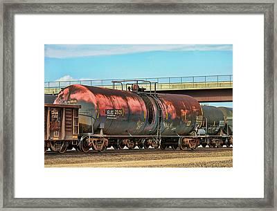 Graffiti - Toxic Tanker Framed Print