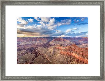 Grand Canyon Scenery Framed Print by Pierre Leclerc Photography