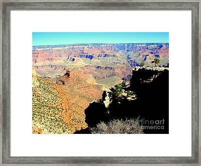 Grand Canyon Usa Framed Print by John Potts