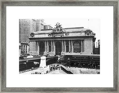 Grand Central Station Framed Print by Underwood Archives