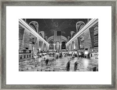 Grand Central Terminal Framed Print by James Howe