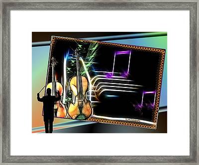 Grand Musicology Framed Print