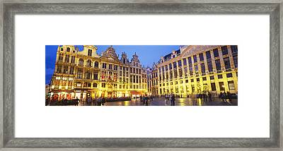 Grand Place, Brussels, Belgium Framed Print