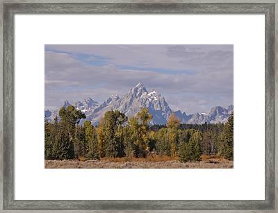 Grand Teton Framed Print