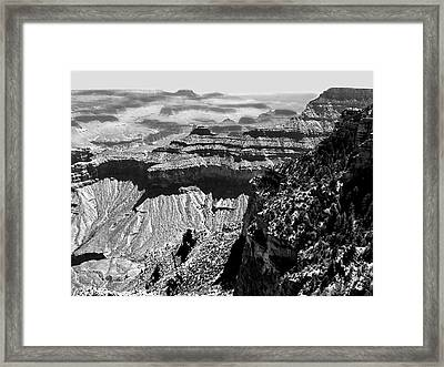 Grand View Framed Print by Camille Lopez