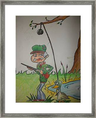 Grandpa Jake Framed Print by Jake Huenink