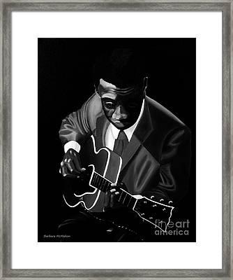 Grant Green Framed Print by Barbara McMahon