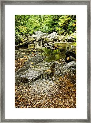 Granville Gorge Framed Print