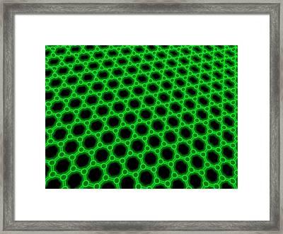 Graphene Framed Print by Laguna Design
