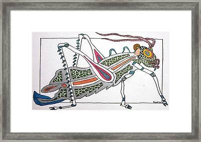 Grasshopper II Framed Print