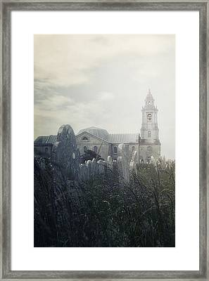 Graveyard Framed Print by Joana Kruse