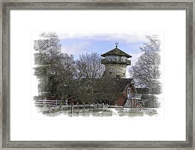 Grazing Fields Farm Framed Print