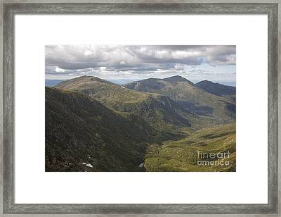Great Gulf Wilderness - White Mountains New Hampshire Framed Print