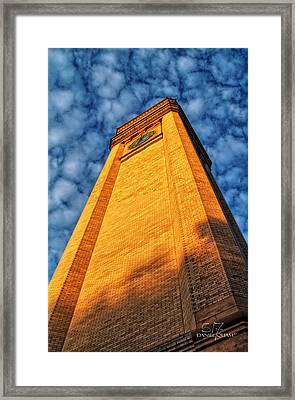 Great Northern Clock Tower Framed Print by Dan Quam