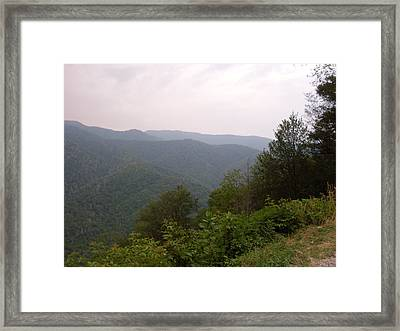 Great Smokey Mountain Framed Print by Celestial Images