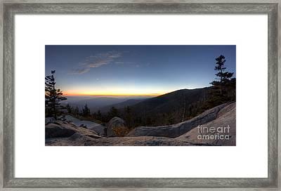 Great Smokie Mountains National Park Sunset Framed Print by Dustin K Ryan