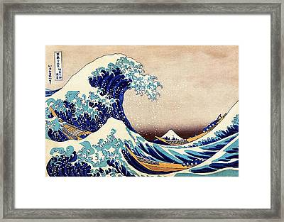 Great Wave Off Kanagawa Framed Print