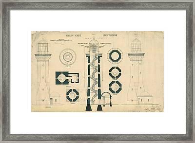 Green Cape Lighthouse Framed Print