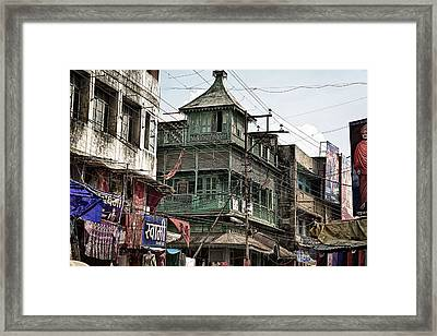 Green House At The Marketplace  Framed Print