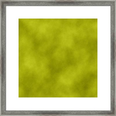 Green Leather Texture Background Framed Print by Valentino Visentini