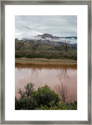 Green River Framed Print