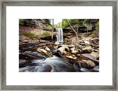 Greeter Falls  Framed Print by Scott Moore